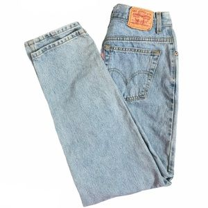 LEVI'S Vintage 550 Mom Jeans Relaxed Tapered 12